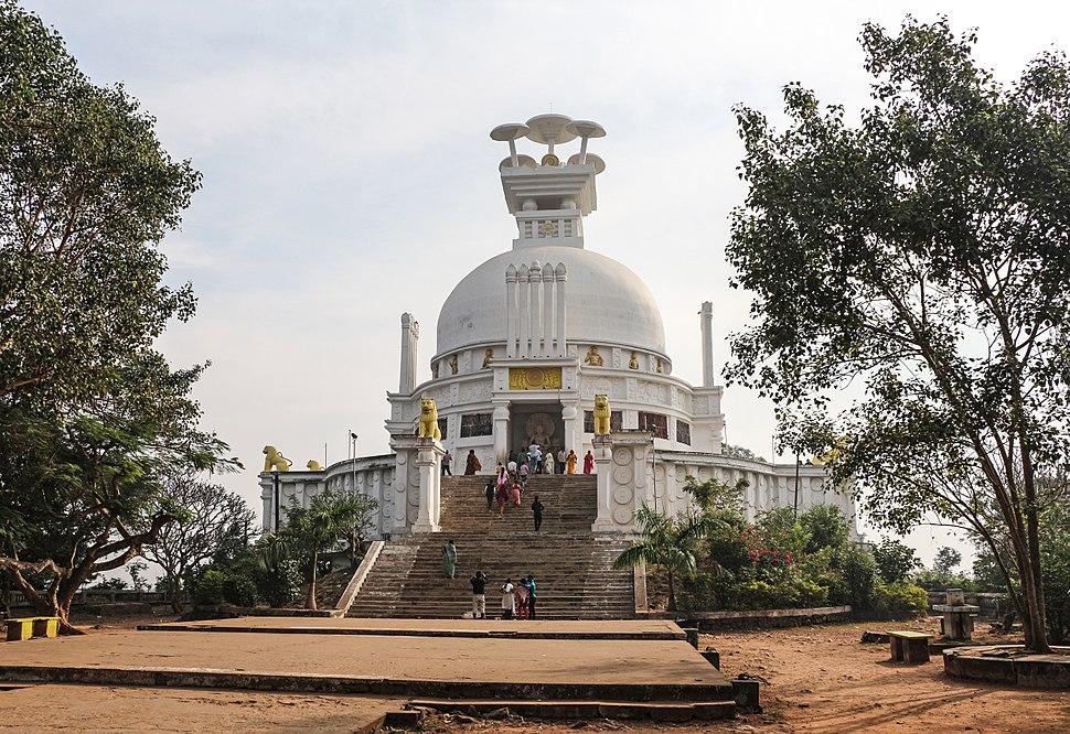 Shanti Stupa, Dhauli 01