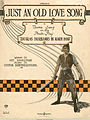 Sheet music cover - JUST AN OLD LOVE SONG (1922).jpg