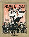 Sheet music cover - MOVIE RAG - NOVELTY TWO STEP (1913).jpg