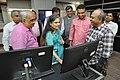 Shefali Shah Along With NCSM Dignitaries Visiting NDL - NCSM HQ - Kolkata 2017-12-14 6435.JPG