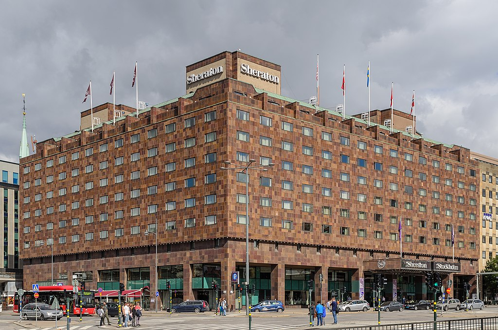 Sheraton Stockholm August 2014