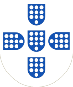 Shield of the Kingdom of Portugal (1139-1247).png