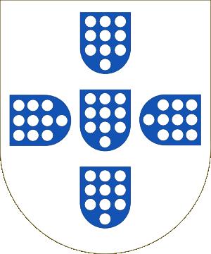 Shield of the Kingdom of Portugal (1139-1247)