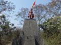 Shivaji Maharaj Statue,University of Pune by NishantAChavan2.JPG
