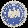 Siegelmarke B.A. Kriegs-Schule Ostende W0379182.jpg