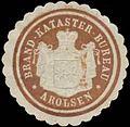 Siegelmarke Brand-Kataster-Bureau Arolsen W0358655.jpg