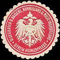 Siegelmarke Delegierter des Kaiserlichen Kommissars und Militär - Inspekteurs der Freiwilligen Krankenpflege W0211336.jpg