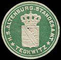 Siegelmarke H.S. Altenburger Standesamt Tegkwitz W0296807.jpg