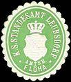 Siegelmarke Königlich Sächsisches Standesamt Leubsdorf - Amtshauptmannschaft Flöha W0252171.jpg
