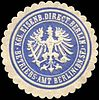 Siegelmarke Königliche Eisenbahn Direction Berlin - Betriebs - Amt Berlin W0212978.jpg