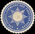 Siegelmarke K.Pr. Commando des Cadetten-Corps W0390142.jpg
