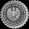 Siegelmarke K. Landrath des Kreises St. Goar W0382056.jpg