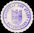 Siegelmarke Magistrat der Stadt - Beverungen W0229313.jpg