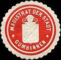 Siegelmarke Magistrat der Stadt Gumbinnen W0313647.jpg