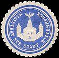 Siegelmarke Magistrat der Stadt Wittenberge W0245907.jpg