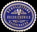 Siegelmarke Schulleitung Friedrichswald bei Reichenberg W0310000.jpg