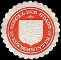Siegelmarke Siegel der Stadt - Königswinter W0246438.jpg