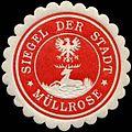 Siegelmarke Siegel der Stadt Müllrose W0311546.jpg