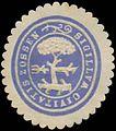 Siegelmarke Sigillum Civitatis Zossen W0385323.jpg