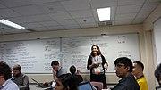 Siko Bouterse (Sbouterse) en Wikimanía 2013 (1375938960) Hung Hom, Hong Kong.jpg