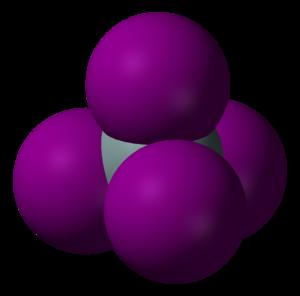 Silicon tetraiodide - Image: Silicon tetraiodide 3D vd W