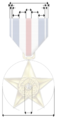 Silver Star medal avec dimensions.png