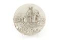 Silverrelief föreställande ryttare till häst, Karl XI vid slaget i Lund 1676 - Skoklosters slott - 92338.tif