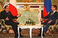 Silvio Berlusconi and Dmitry Medvedev in 2008 (4).jpg