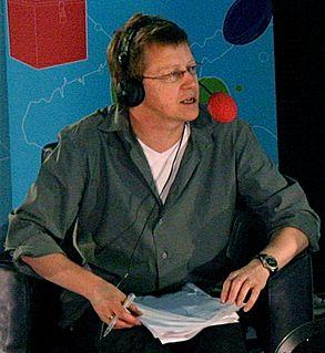 Simon Mayo British radio presenter