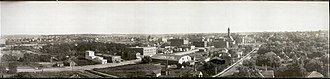 History of Sioux Falls, South Dakota - Image: Sioux Falls 1907