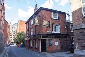 Sir Ralph Abercromby (pub) - The Abercrombie in 2016