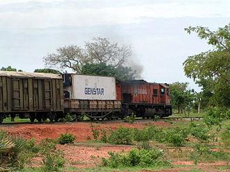 Transport in Burkina Faso - Image: Sitarail train