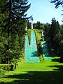 Ski jumps in Mostec, Ljubljana.jpg