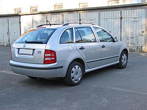 Škoda Fabia - Kombi (pre-facelift)
