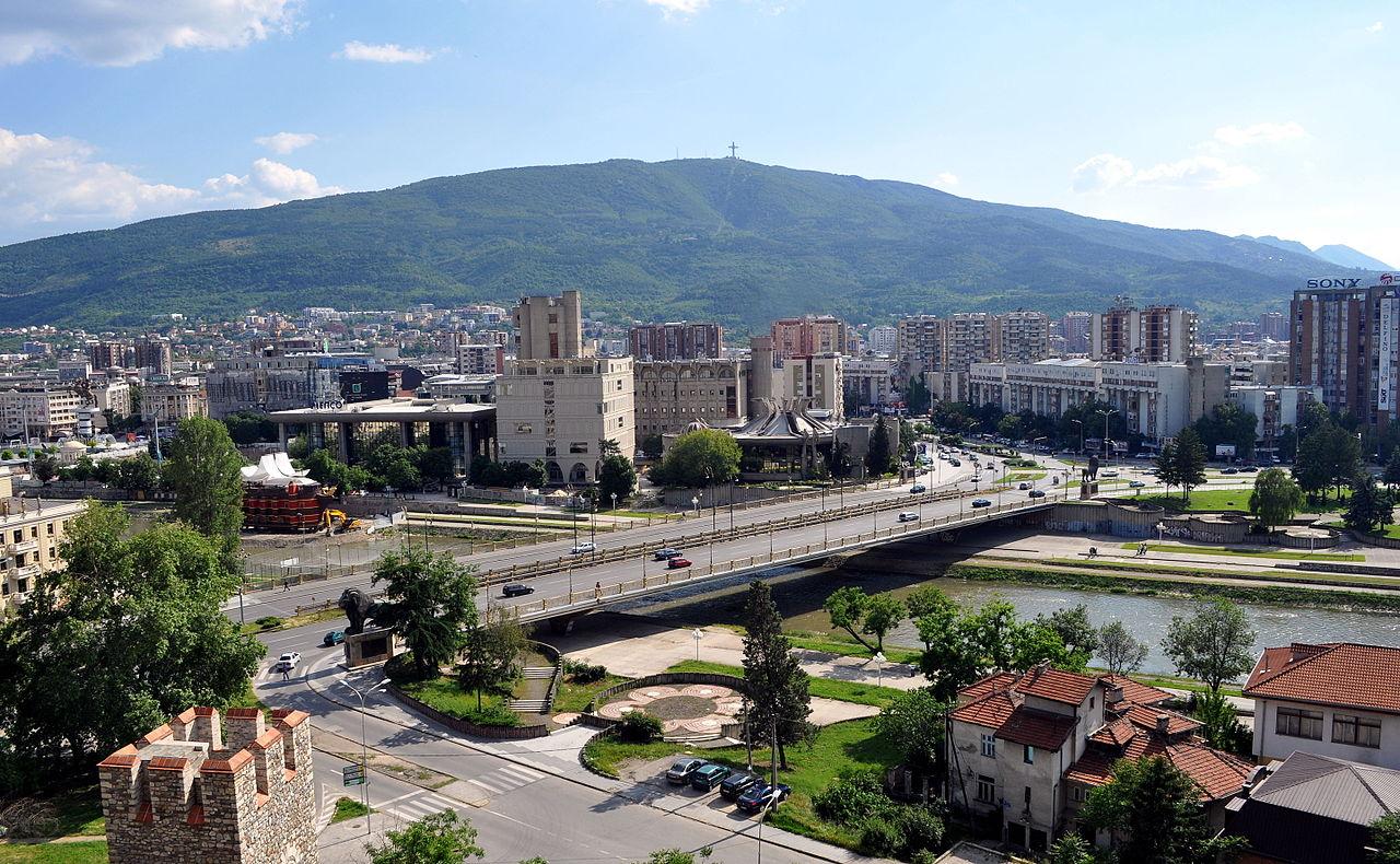 Ibu kota Skopje