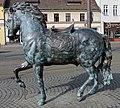 Skulptur Schloßplatz (Köpen) Wilde Pferde&Inges Idee&2008.jpg