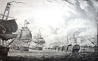 Battle of Copenhagen (1801) - Another view of The Battle of Copenhagen