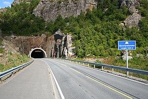 Lofoten Mainland Connection - The Sløverfjord subsea tunnel is 3.3 km long.