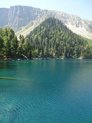 Lake Smaller Ritsa - View of Smaller Ritsa