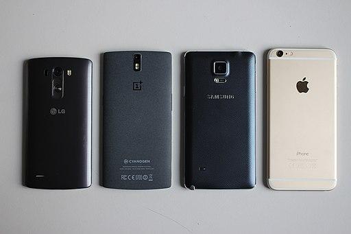 Smartphones back