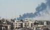 Smoke rising above Amman during Black September