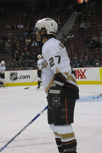 Scott Niedermayer - Niedermayer with the Ducks in 2006.