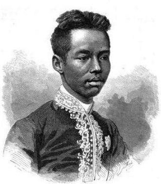 Chulalongkorn - Young Prince Chulalongkorn