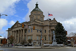 Somerset County, Pennsylvania - Somerset County Courthouse