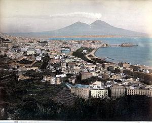 """Italiano: Giorgio Sommer (1834-1914), """"Na..."""