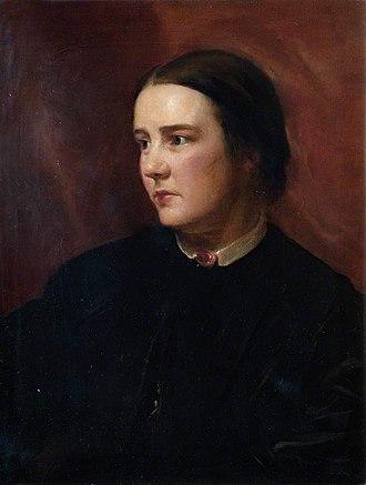 Sophia Jex-Blake - Portrait by Samuel Laurence 1865