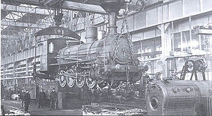 Krasnoye Sormovo Factory No. 112 - O<sup>d</sup> steam loco at Sormovo Factory