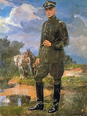Kazimierz Sosnkowski - Sosnkowski by Wojciech Kossak, 1939