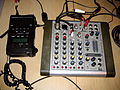 Soundcraft Compact4 mixer and Marantz PMD660 digital recorder.jpg
