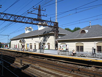 South Norwalk (Metro-North station) - Older building, across the tracks.